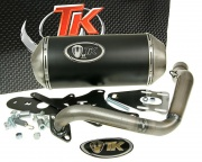 Výfuk Turbo Kit GMax 4T pre Znen Retro, GY6 125/150ccm