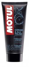 Čistič chromových a hlinikových dielov E6 Chrome & Alu Polish