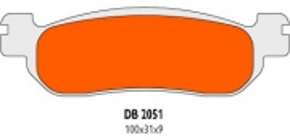 Brzdové obloženie Delta Braking DB2051RDN