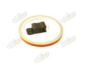 Páska lepiaca na disk ProGrip 7mm (600cm) oranžová