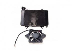 Chladič pre ATV a motocykle 200/250cc s ventilátorom