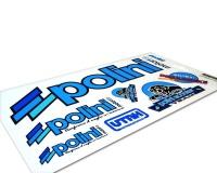 Nálepky Polini 30x17cm P.13671