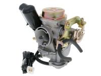 Karburátor pre skútre GY6 50ccm 4T 139QMB/QMA - plechový kryt