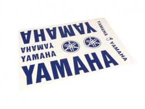 Nálepky Yamaha modré 34x24cm