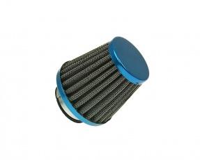 Vzduchový filter 38mm Powerfilter modrý