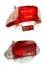 Zadné svetlo pre skútre GY6 50cc QT9