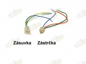 Konektor 4pin 3041 zásuvka a zástrčka