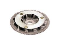 Poloremenica variátora pre Piaggio 125 motor Leader
