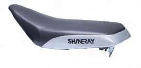 Sedlo pre ATV SHINERAY 150-200ccm Black/Silver