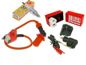 CDI zapaľovanie kompletná elektronika na skútre GY6 125/150 152QMI/157QMJ