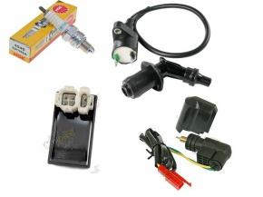 CDI zapaľovanie kompletná elektronika na skútre GY6 50cc 139QMB
