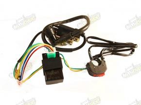 CDI zapaľovanie kompletná elektroinštalácia pre pitbike/dirtbike 110/125/140/150cc
