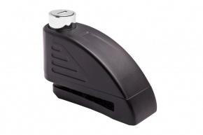 Zámok TOKOZ s alarmom na brzdový kotúč čierny