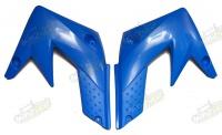 Plasty predné bočné XB33 - modrá