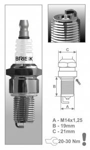 Zapaľovacia sviečka BRISK  LR11S 1534