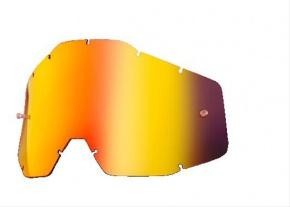 Sklo 100% Red Mirror Smoke Anti-Fog lens