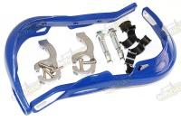 Blastre ochrana riadidiel hliníková výstuha 22/28mm modré