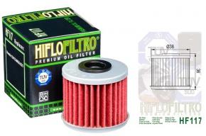 Filter oleja HIFLOFILTRO HF117