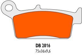 Brzdové obloženie Delta Braking Sinter DB2016SRN