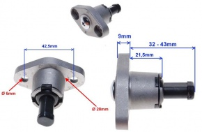 Šponovák rozvodovej reťaze pre motory 150/200/250cc OHC 156FMI
