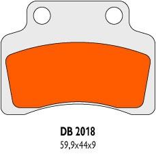 Brzdové obloženie Delta Braking Sinter DB2018SRN