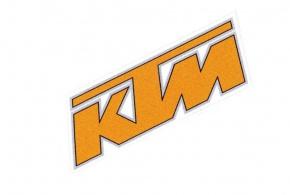 Nálepka KTM 15x5cm Orange