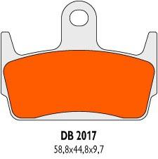Brzdové obloženie Delta Braking Sinter DB2017SRN