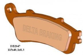 Brzdové obloženie DB2047 RD-N4