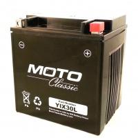 Akumulátor YiX30L-BS MF bezúdržbový YTX30 MS-YIX30L