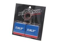 Ložiská kľukového hriadeľa Naraku SKF C3 kvality kovová klietka pre Minarelli AM