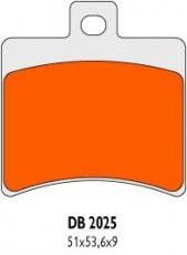 Brzdové obloženie Delta Braking Sinter DB2025SRN