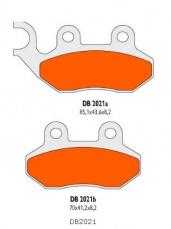 Brzdové obloženie Delta Braking Sinter DB2021SRN