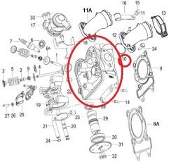 Hlava pre Honda Keeway 125cm 4T LC