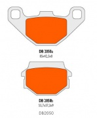 Brzdové obloženie Delta Braking DB2050QDN pre ATV, SMC, Access