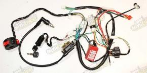 CDI zapaľovane kompletná elektroinštalácia pre ATV110 ATV125