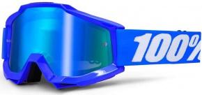 Okuliare 100% Accuri Reflex Blue Mirror Blue Lens