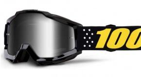 Okuliare 100% Accuri Pistol Mirror Silver Lens