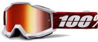 Okuliare 100% Accuri Graham Mirror Red Lens