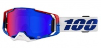 Okuliare 100% Armega Genesis Hiper Blue/Red Mirror