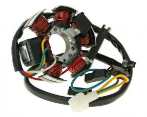 Stator cievka zapaľovacia 85W pre motocykle Derbi Senda, Aprilia RX, SX, Gilera RCR, SMT