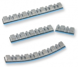 Samolepiace závažia na vyvažovanie kolies 5gx7 a 2,5gx6