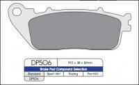Brzdové obloženie DP506 pre HONDA VFR , CB