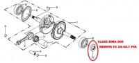 Gufero 27x42x7 91201-HMA-300 pre SYM 300 CITYCOM GTS NEW GTS EVO