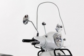 Plexi sklo pre SYM Fiddle III 50-125ccm Small 50/35cm