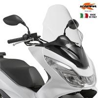 Plexi Kappa pre Honda PCX 125/150ccm 2014-2017 transparentné