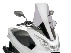 Plexi štít Puig V-Tech smoke pre Honda PCX 125i eSP 4T 14-