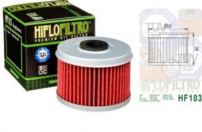 Filter olejový HF103 Honda CRF250 CB300