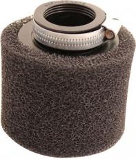 Vzduchový filter 38mm priamy dvojvrstvý molitanový čierny