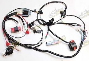 CDI zapaľovane elektroinštalácia pre ATV150 GY6