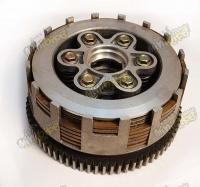 Spojka komplet pre motor CG 200ccm 73zubov 7lamiel